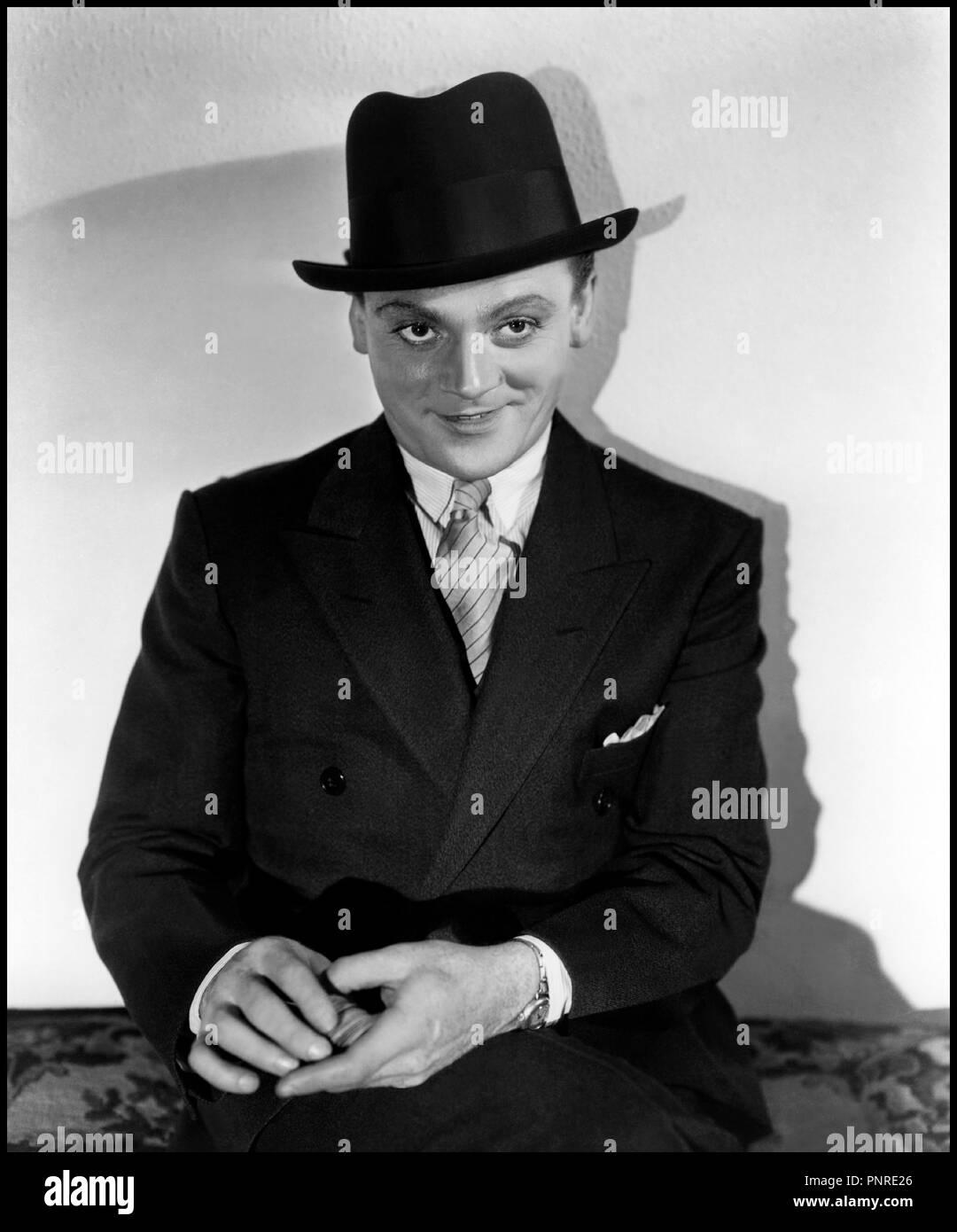 Prod DB © Warner Bros Pictures / DR otros hombres, mujeres de William A. Wellman 1931 USA avec James Cagney retrato, chapeau, gangster autre titre: La autopista de acero (1er titre) Imagen De Stock