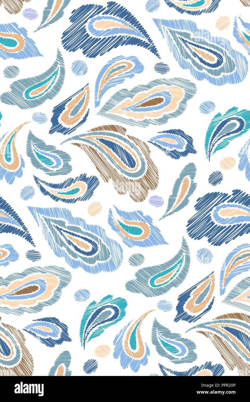 Paisley Pattern Indian Imágenes De Stock & Paisley Pattern Indian ...