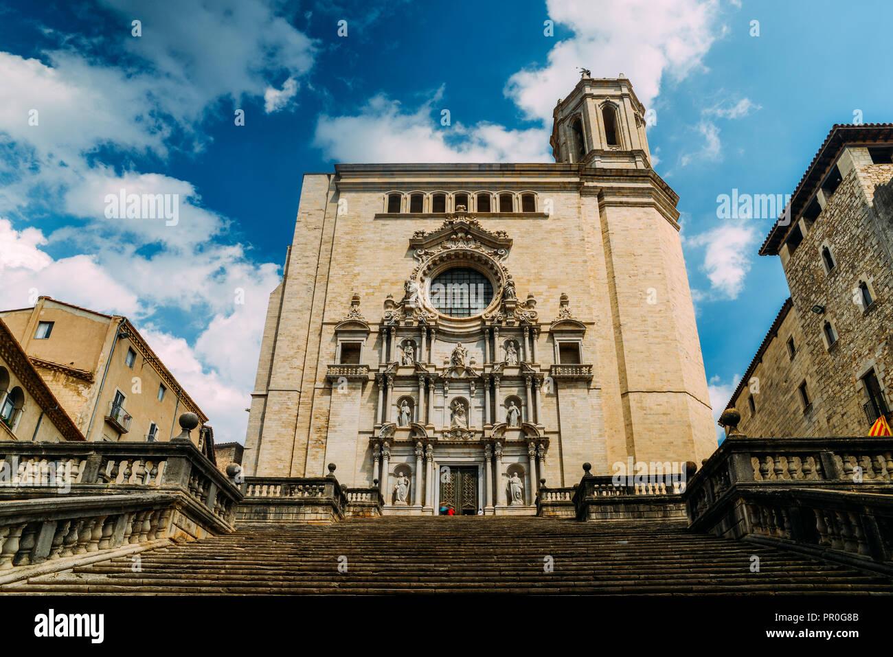 La Catedral De Girona Catedral De Santa Maria De Girona Una