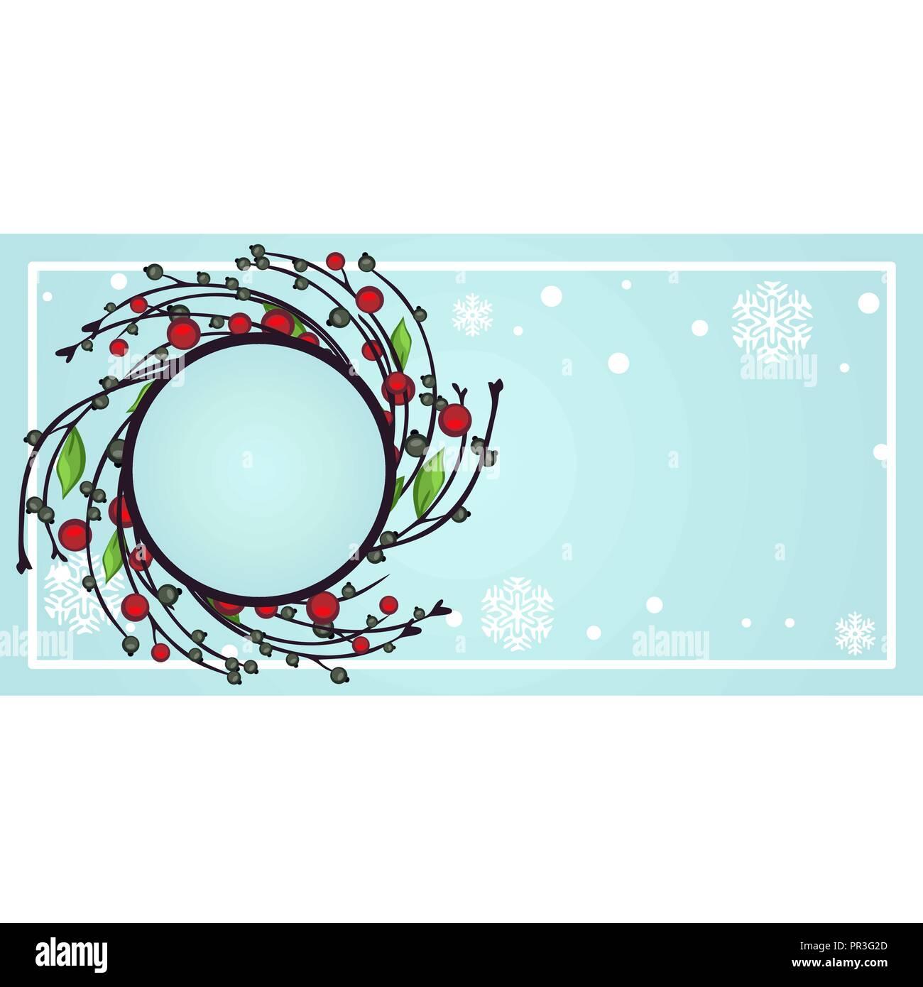 Ejemplo De Diseño De Etiqueta Con Atributos De Navidad Y Año