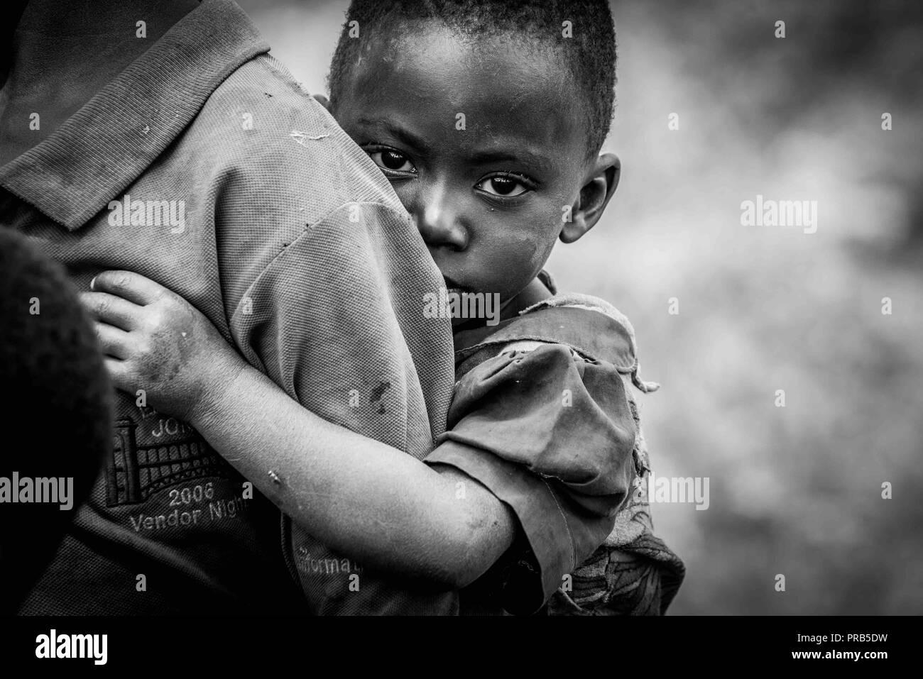 Pueblo de Burundi Foto de stock