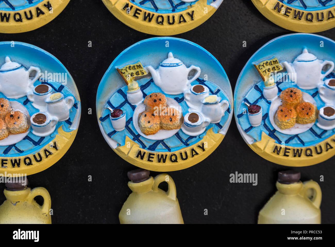 Cornwall Souvenirs Imágenes De Stock   Cornwall Souvenirs Fotos De ... b9f0255dba0a4