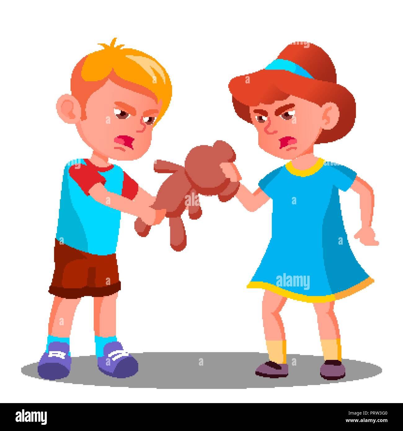 Juguete Dibujo Niños Peleando Wwwimagenesmycom