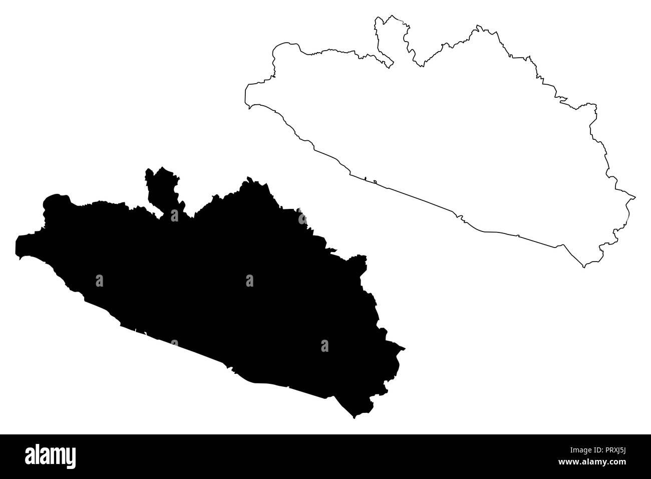 Guerrero Estados Unidos Mexicanos México República Federal Mapa