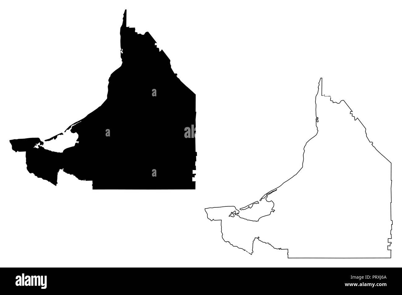 Campeche Estados Unidos Mexicanos México República Federal Mapa