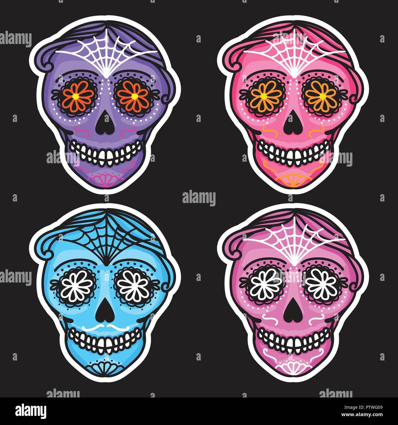 Defina El Color Calavera Firmar Dia De Los Muertos El Día De Los