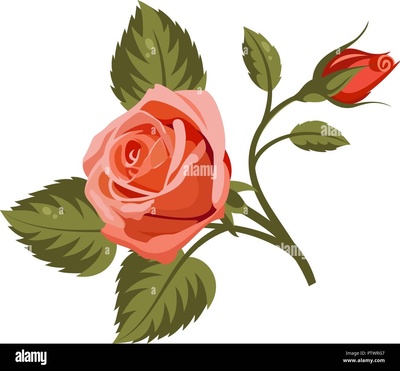 Flores Rojas Para Colorear Djdarevecom