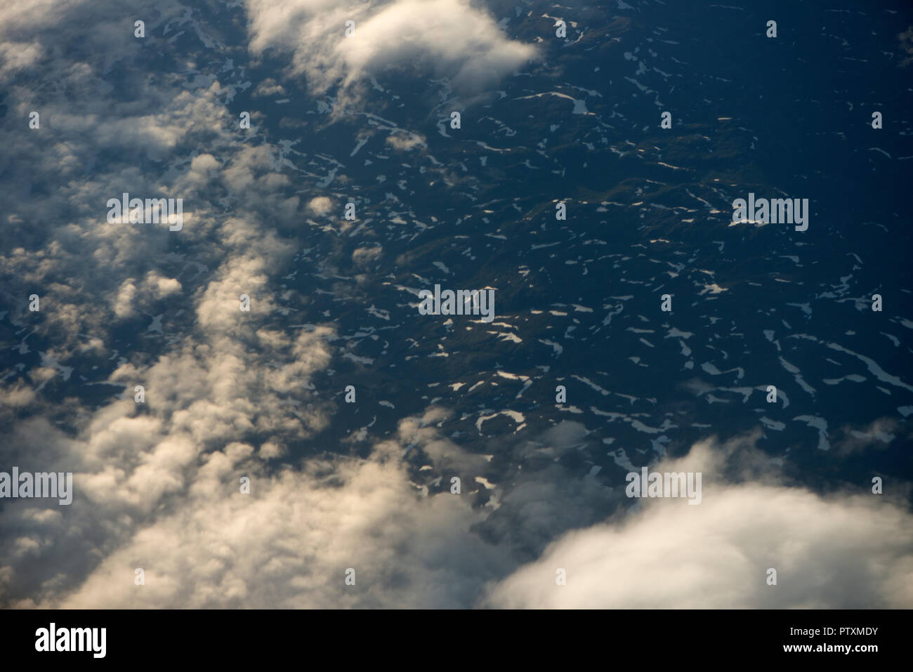 Transformación de paisajes Imagen De Stock