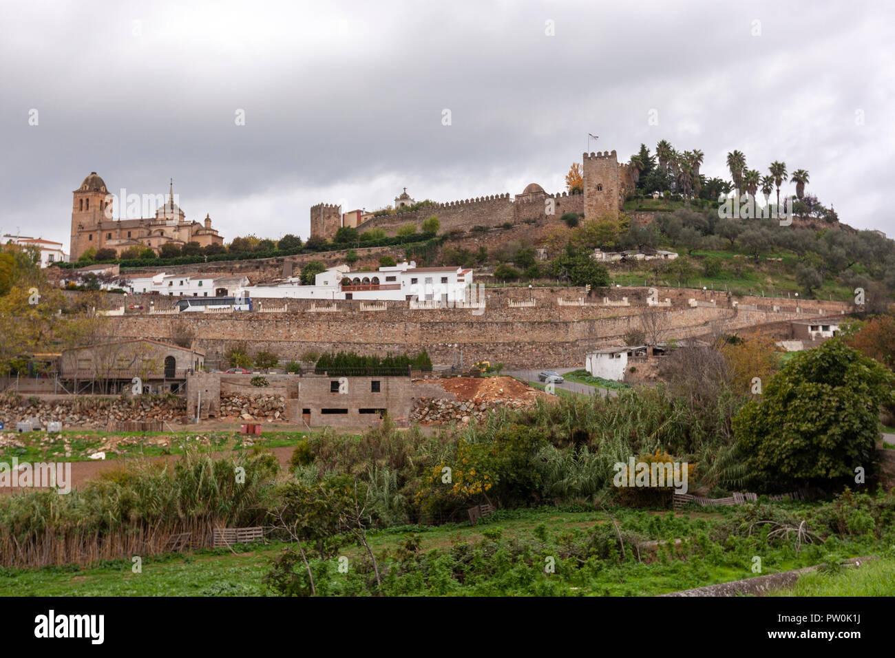 Vista De Jerez De Los Caballeros Provincia De Badajoz En