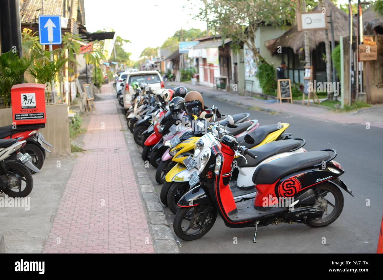 Calle de Bali Imagen De Stock