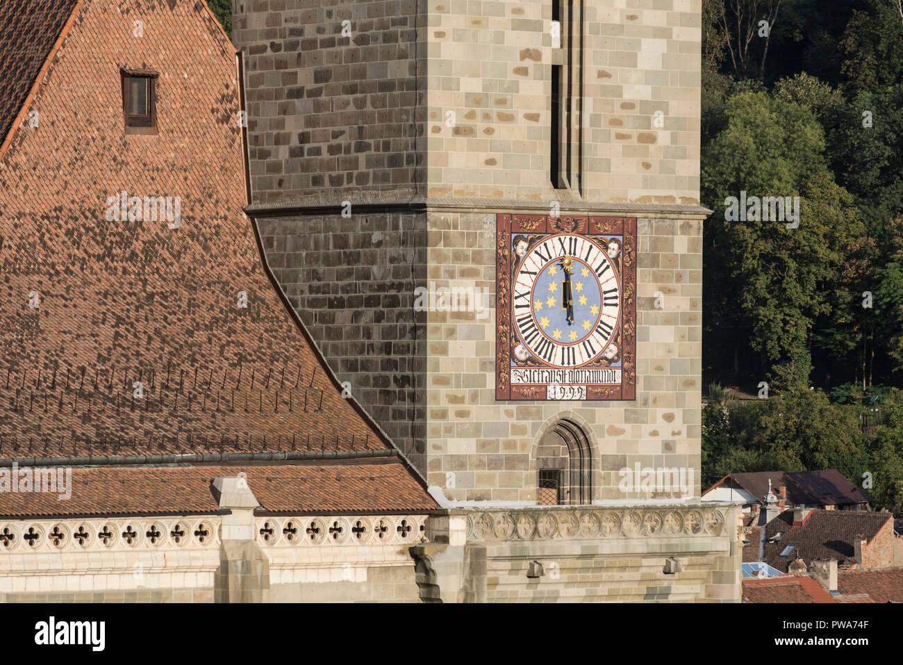 La iglesia negra de Brasov, Rumania - Biserica Neagra, Brasov, Rumania Imagen De Stock