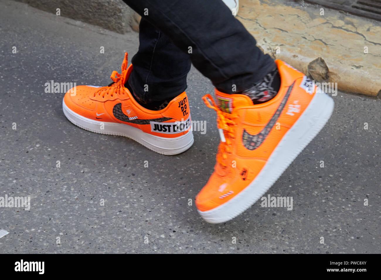 zapatillas nike naranja