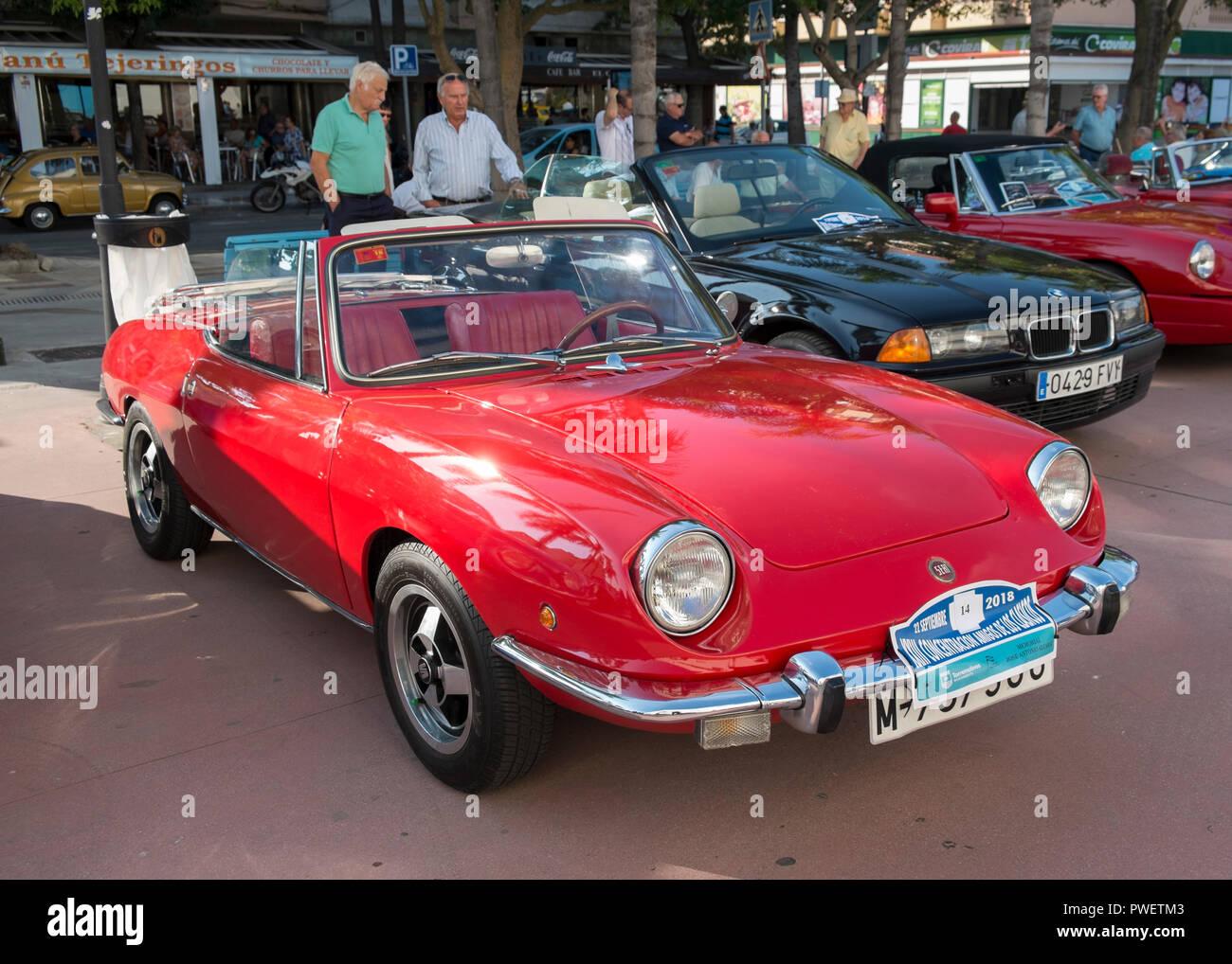 1969 Seat 850 Spider. Foto de stock