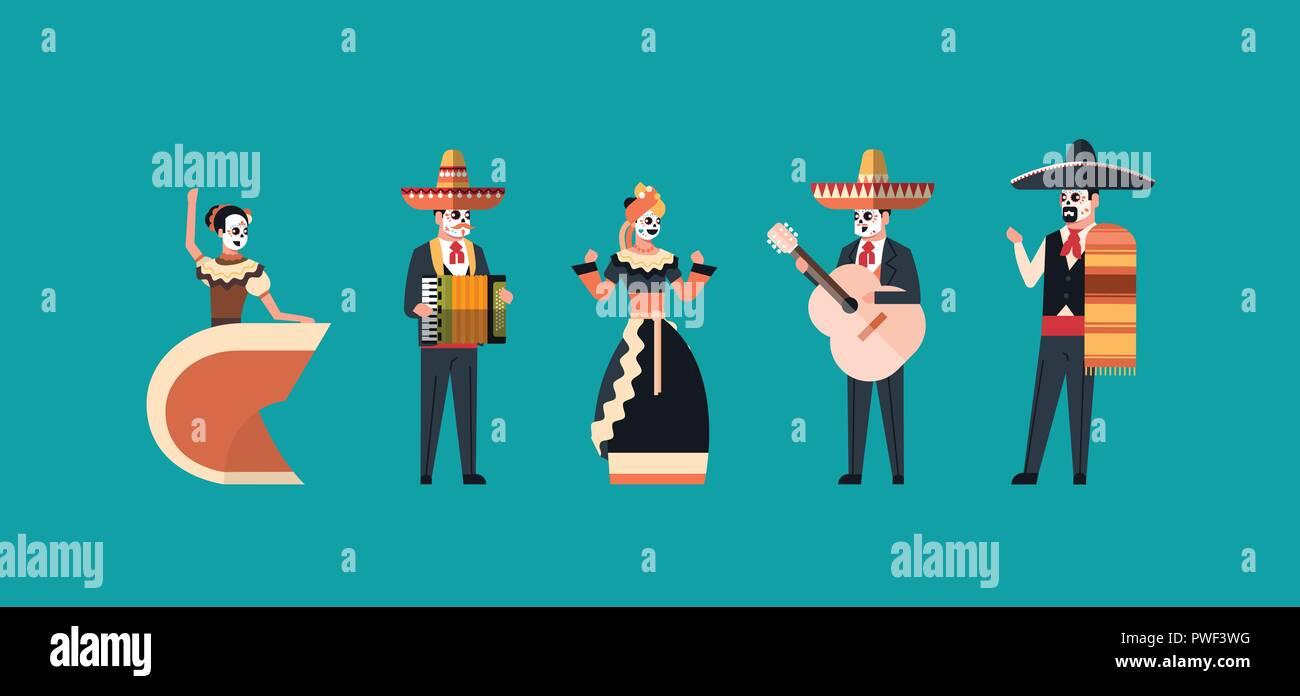 Día De Muertos Mexicano Tradicional Dia De Los Muertos