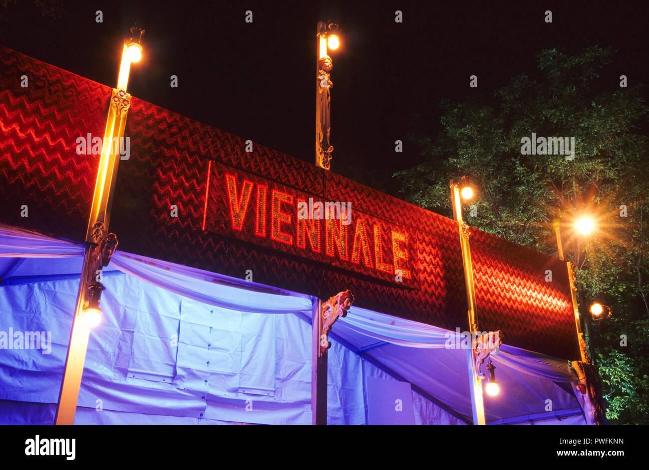 Wien, la Viennale, Kino - Viena, la Viennale, Cine Imagen De Stock
