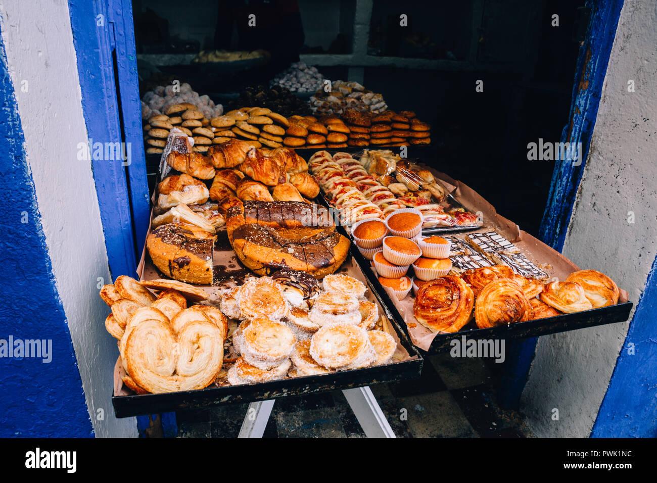 Chefchaouen, Marruecos, 2018 Foto de stock