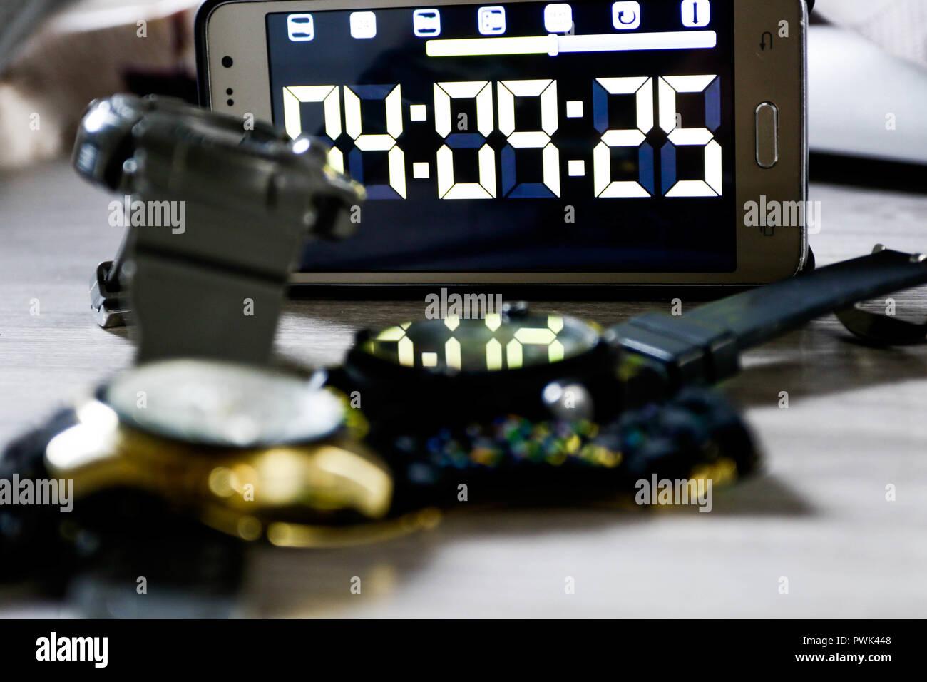 SÃO PAULO, SP - 16.10.2018: GOVERNO ALTERA INÍCIO ¿HORÁRIO DE VERÃO - El gobierno decide mantener la fecha de inicio del horario de verano para el 4 de noviembre, el mismo día que el Enem pruebas, y afirma que en aras de la seguridad jurídica, dado el decreto ya publicado. (Foto: Aloisio Mauricio/Fotoarena) Imagen De Stock
