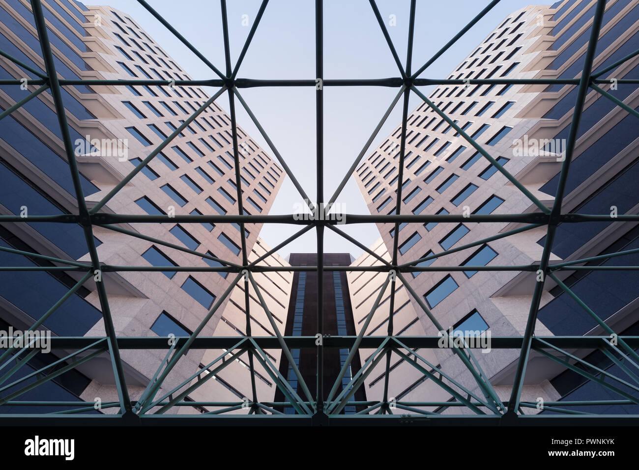 Edificio Corporativo Foto de stock