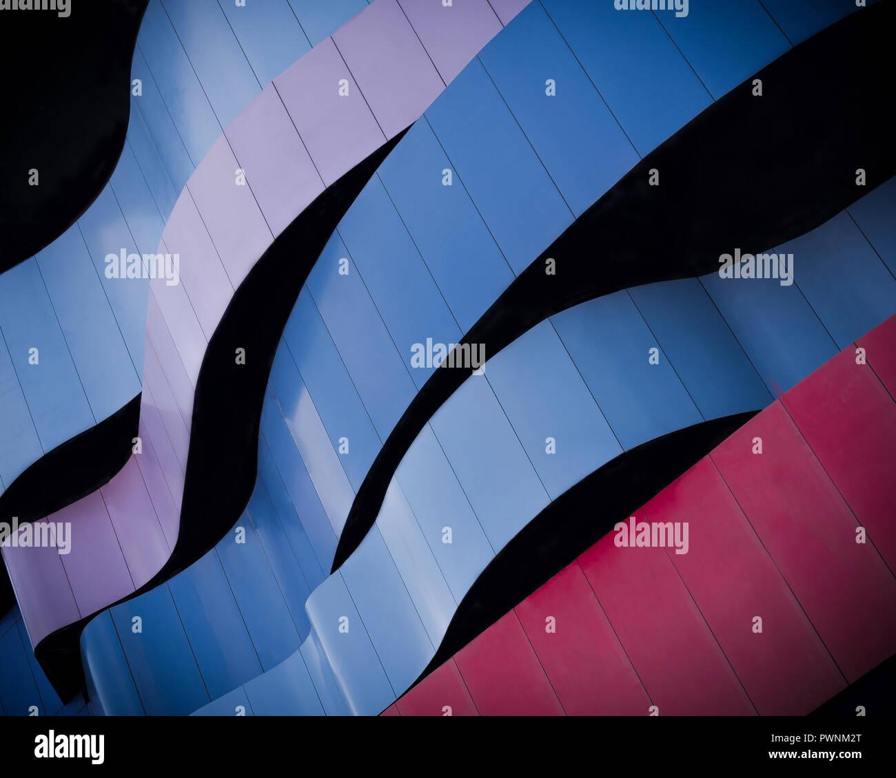 Líneas y curvas Imagen De Stock