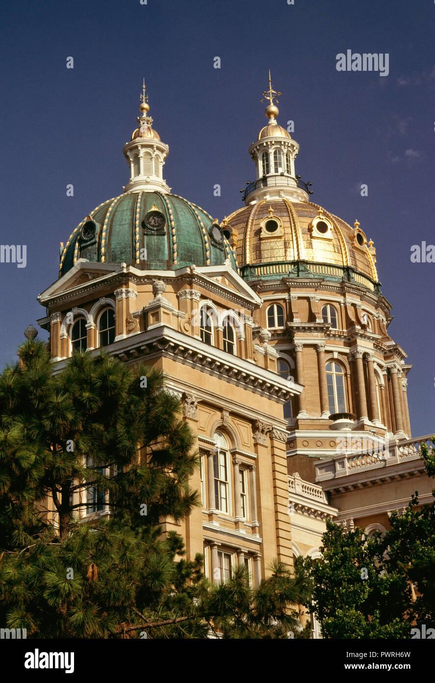 Capitolio del Estado de Iowa, Des Moines, Iowa, Estados Unidos Foto de stock