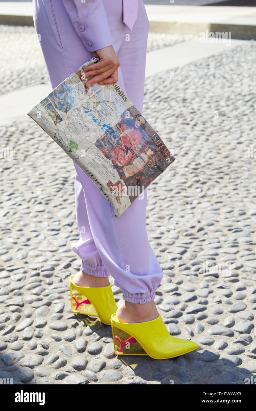 Italia 21 Una Con 2018 Milán Septiembre De Zapatos Mujer B7wqFx