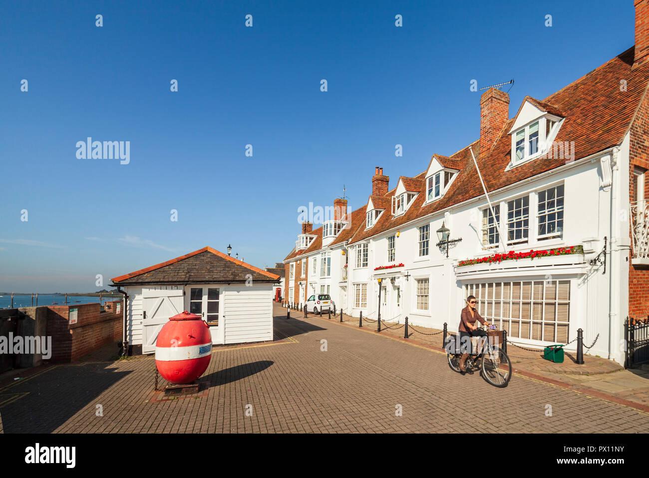 El Quay, Burnham en Crouch Imagen De Stock