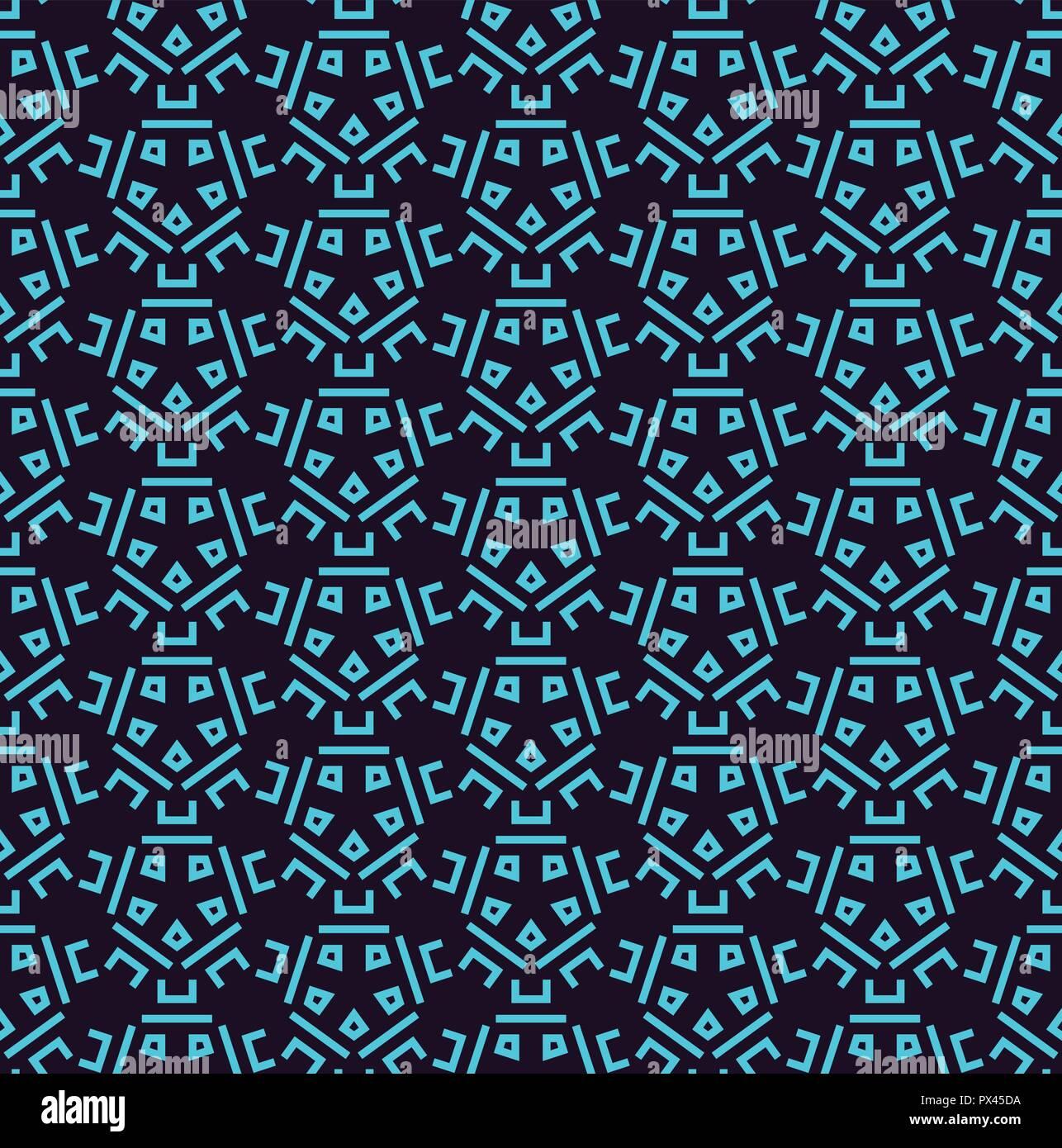 Geometrica De Lujo Sencillo Patron Minimalista Con Lineas Azules