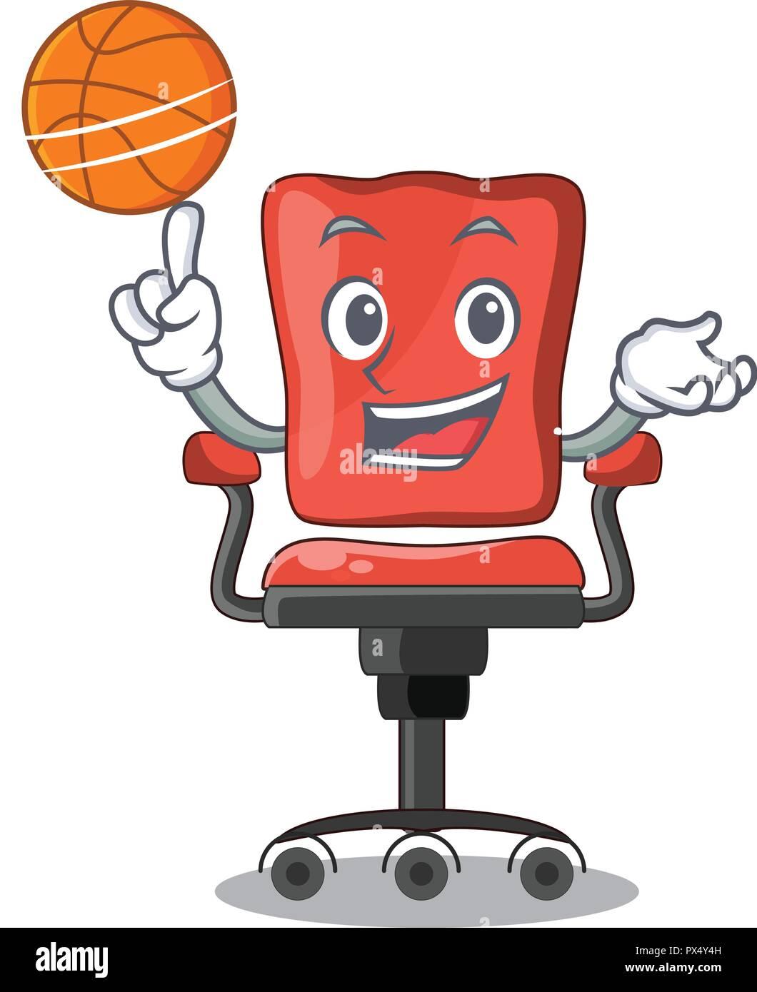 Escritorio Para Baloncesto Oficina De En Con Carácter Silla XOP08nwk