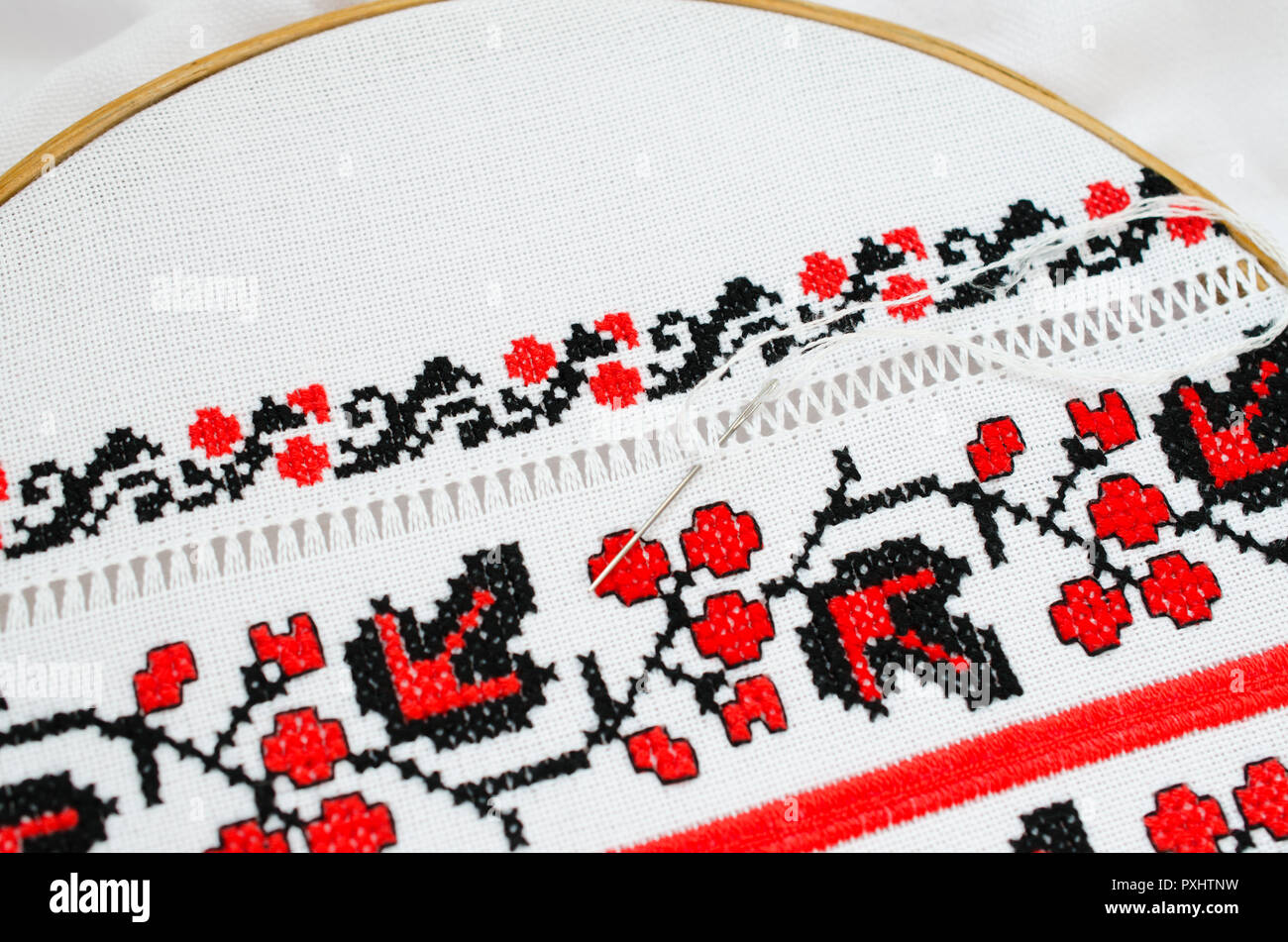 Embroidery Pattern The Imágenes De Stock & Embroidery Pattern The ...