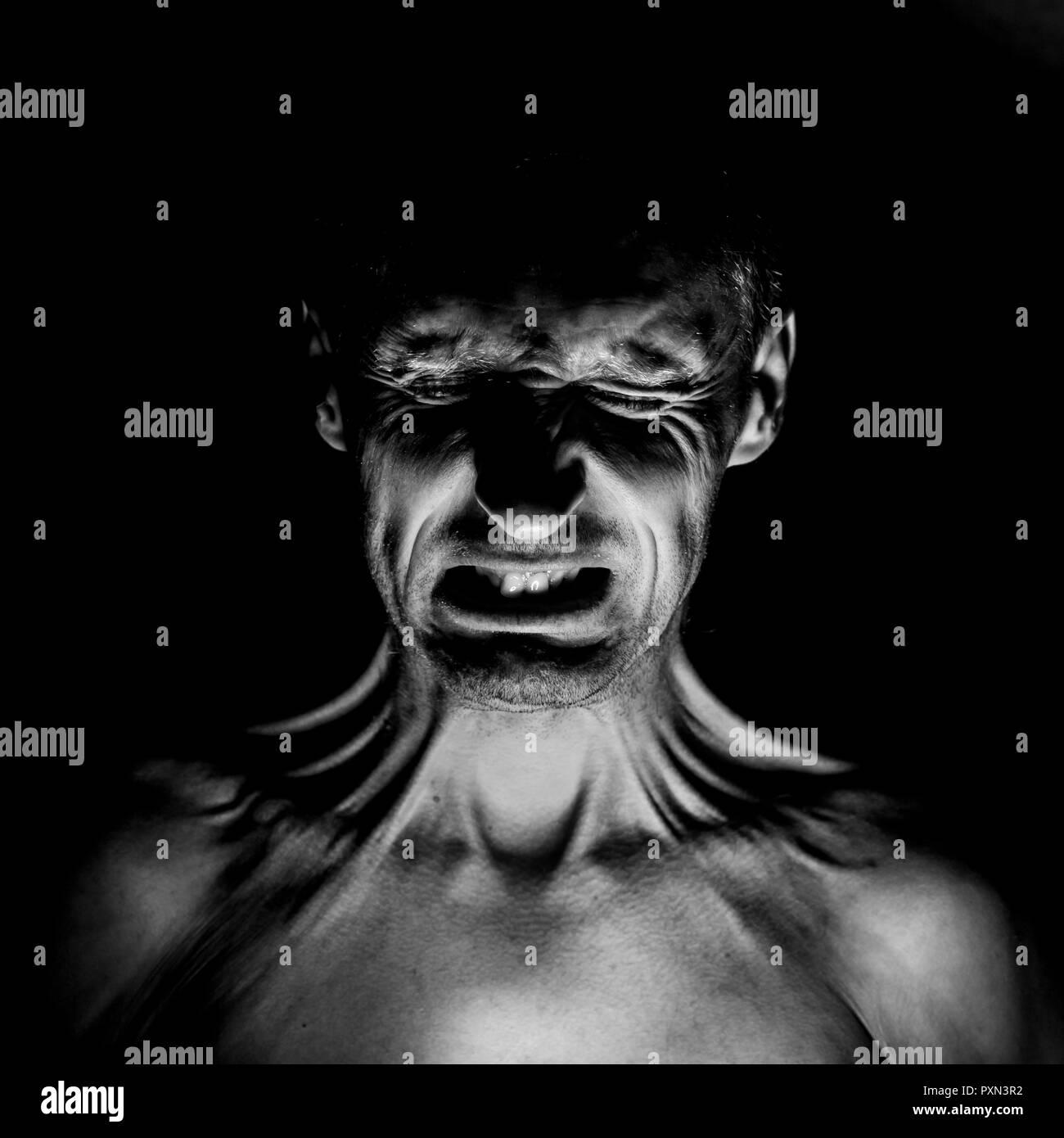 Resultado de imagen de rostro con miedo imagenes