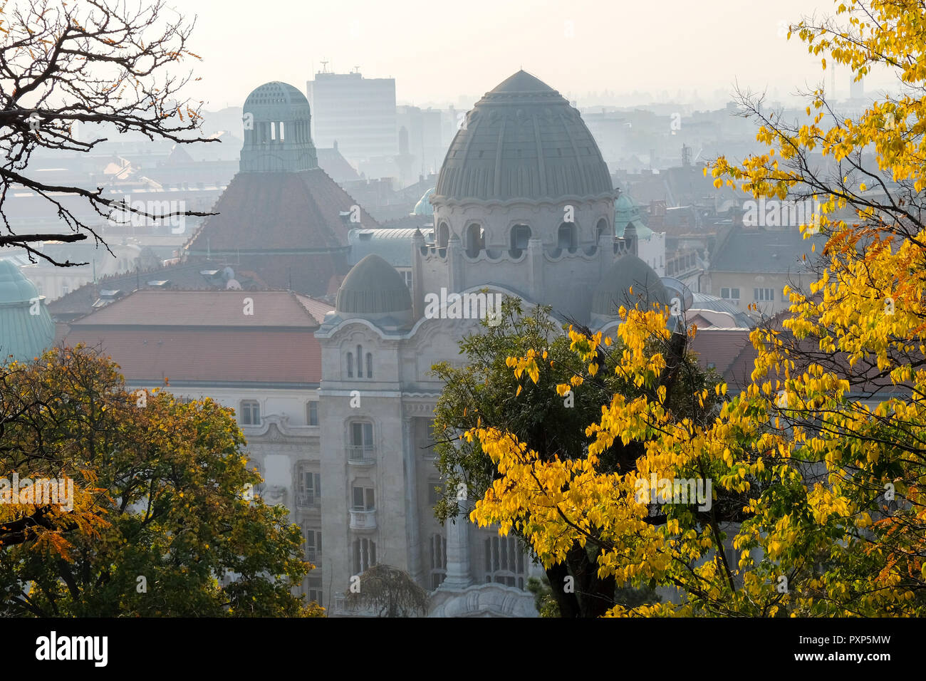 Budapest, capital de Hungría. Húngaro, octubre de 2018 Foto de stock