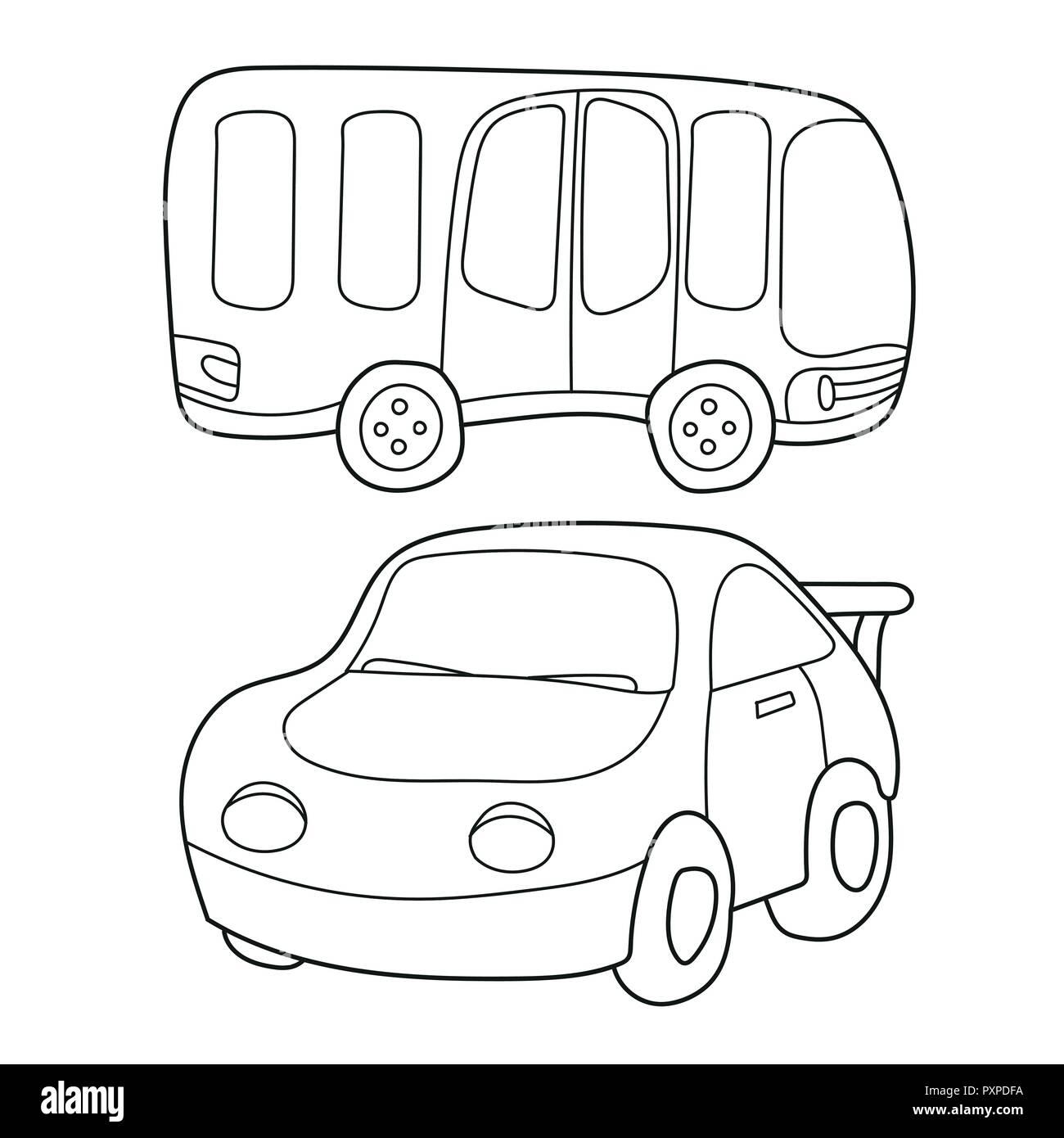 Autobus Illustration Imágenes De Stock Autobus Illustration Fotos