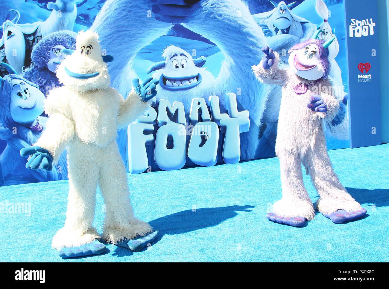 Los Angeles estreno de 'Smallfoot' - Llegadas Con: ambiente donde: Los Ángeles, California, Estados Unidos cuando: 22 de septiembre de 2018 Crédito: Adriana M. Barraza/WENN.com Foto de stock