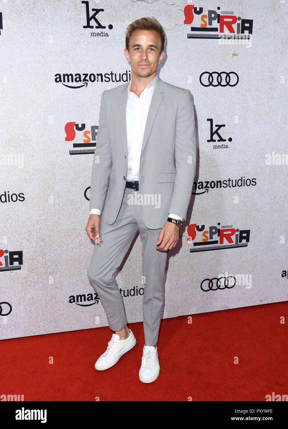 24 de octubre de 2018 - El Hollywood, California - Jesse Johnson. 'Suspiria' Los Angeles Premiere celebrada en Arclight Hollywood . Crédito de la foto: Birdie Thompson/AdMedia Foto de stock