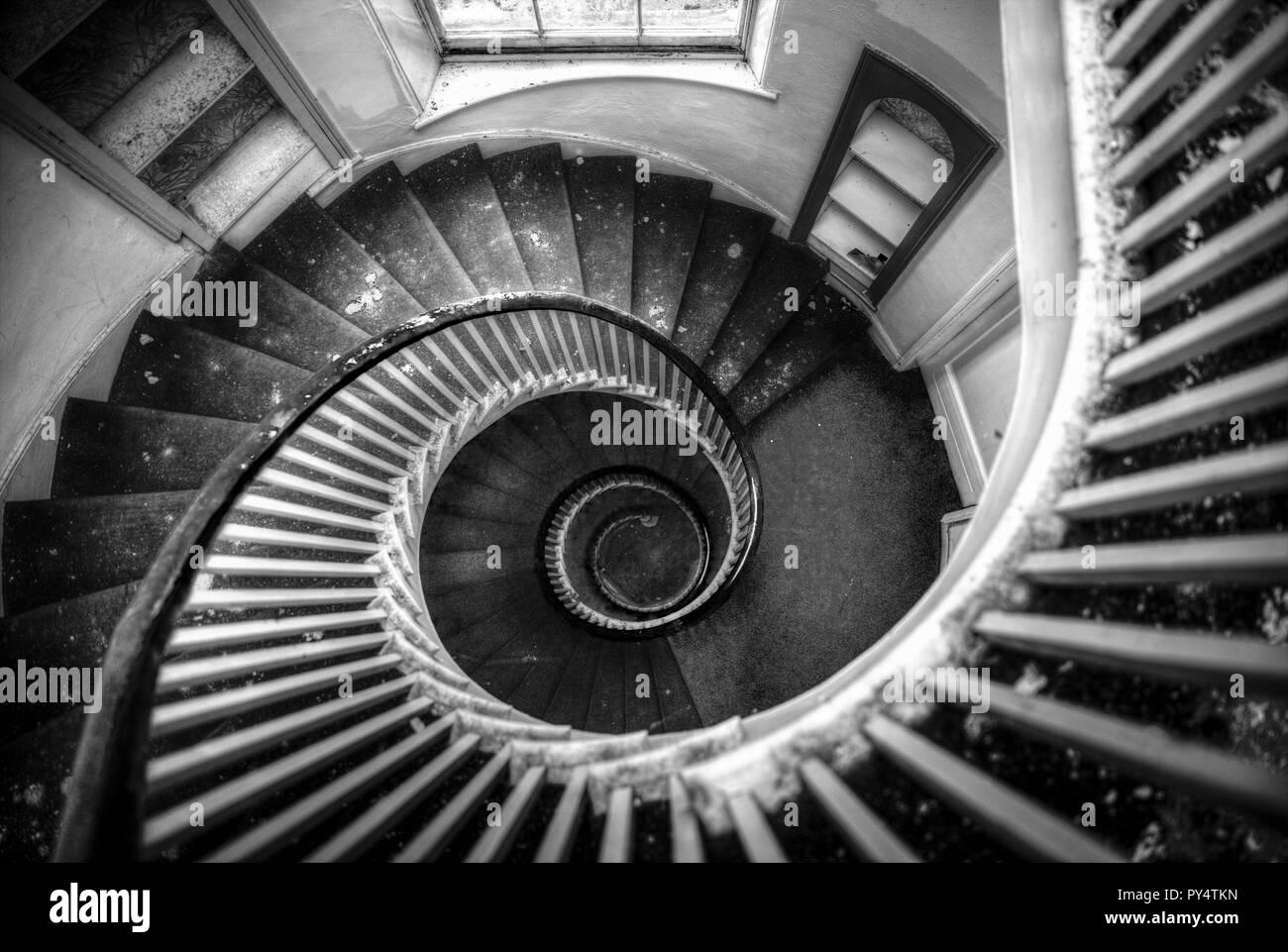 Escalera De Caracol Escaleras En Espiral Escalera De Caracol De - Escaleras-en-espiral