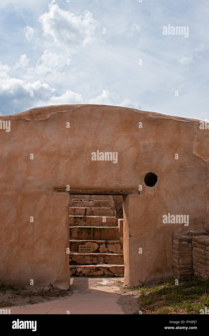 Tumacacori National Historical Park. Arizona, EE.UU. Foto de stock
