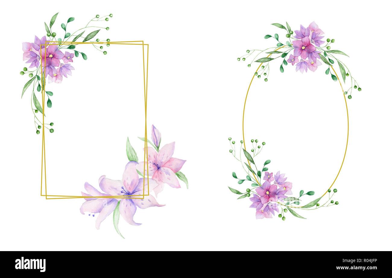 Invitación De Boda Tarjetas De Invitación Floral Olivos Y