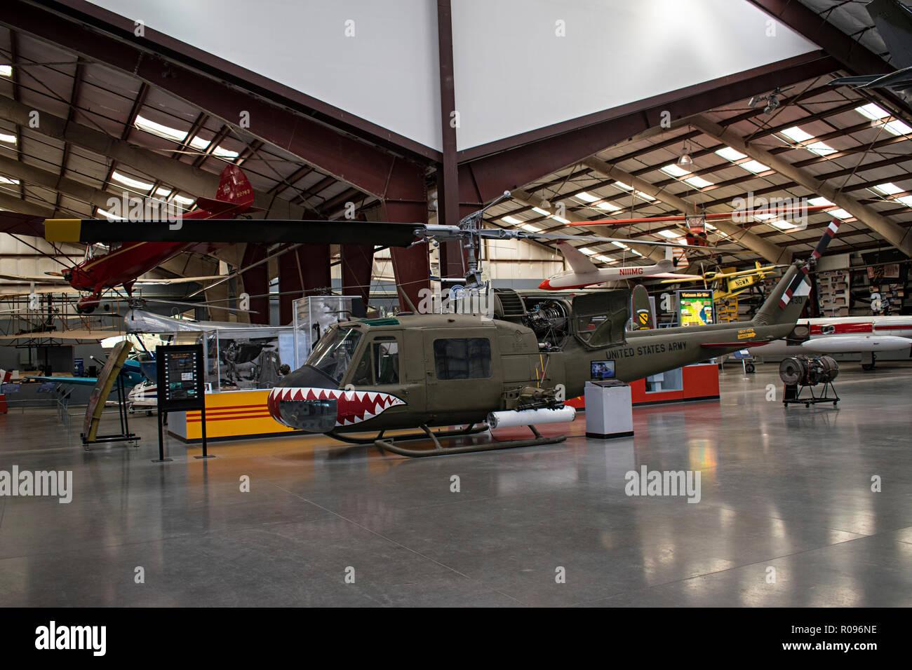 Pima Air & Space Museum. Tucson, Arizona. Ee.Uu. Foto de stock
