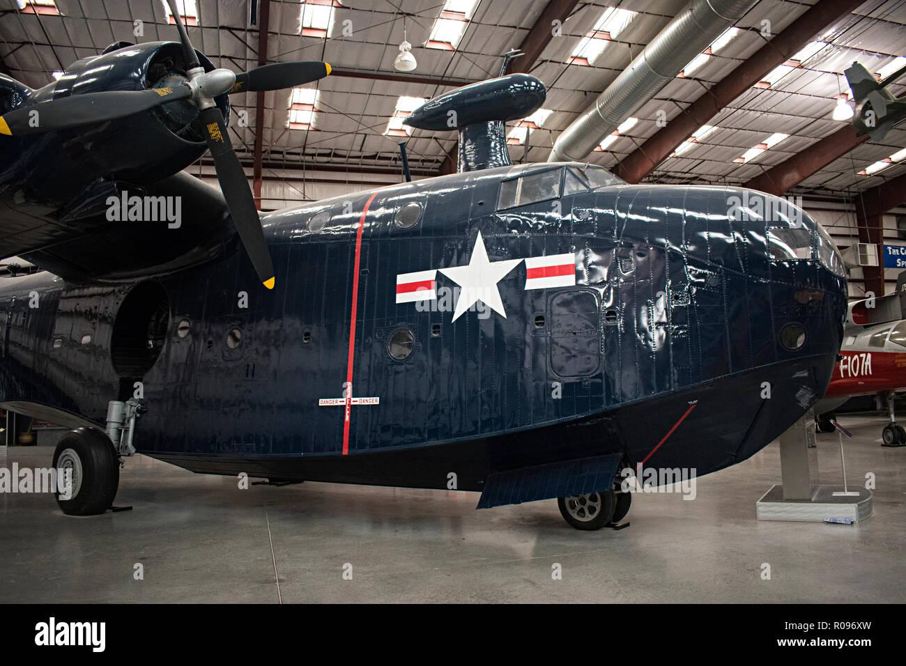 PBM Mariner, Pima Air & Space Museum. Tucson, Arizona. Ee.Uu. Foto de stock