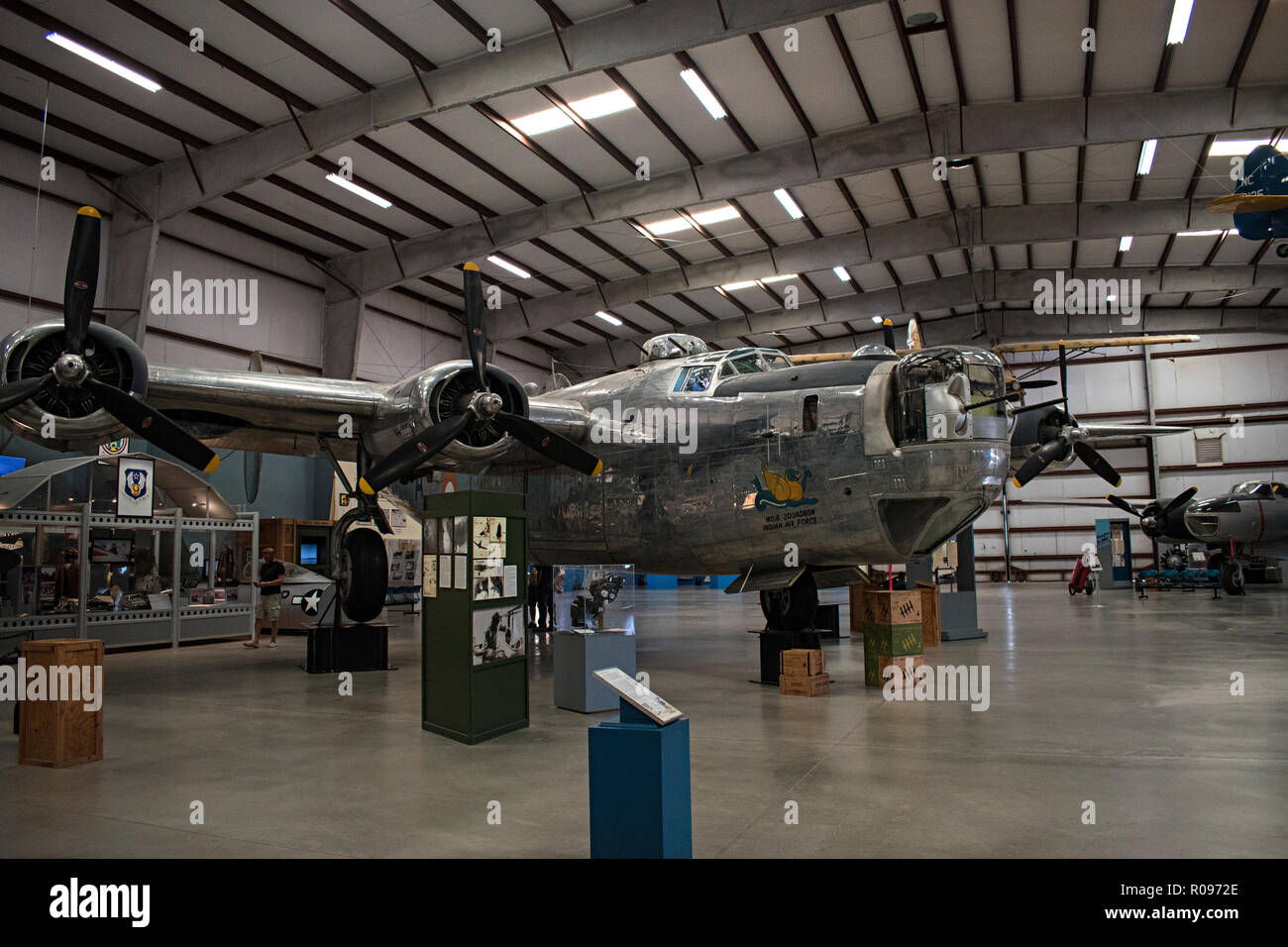 B-24 Liberator, Pima Air & Space Museum. Tucson, Arizona. Ee.Uu. Foto de stock