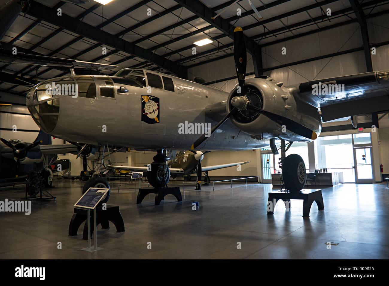 B-25 Mitchel, Pima Air & Space Museum. Tucson, Arizona. Ee.Uu. Foto de stock