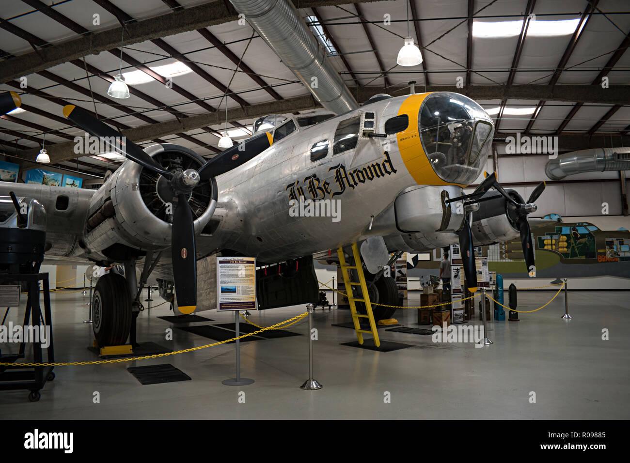 B-17 Flying Fortress, Pima Air & Space Museum. Tucson, Arizona. Ee.Uu. Foto de stock