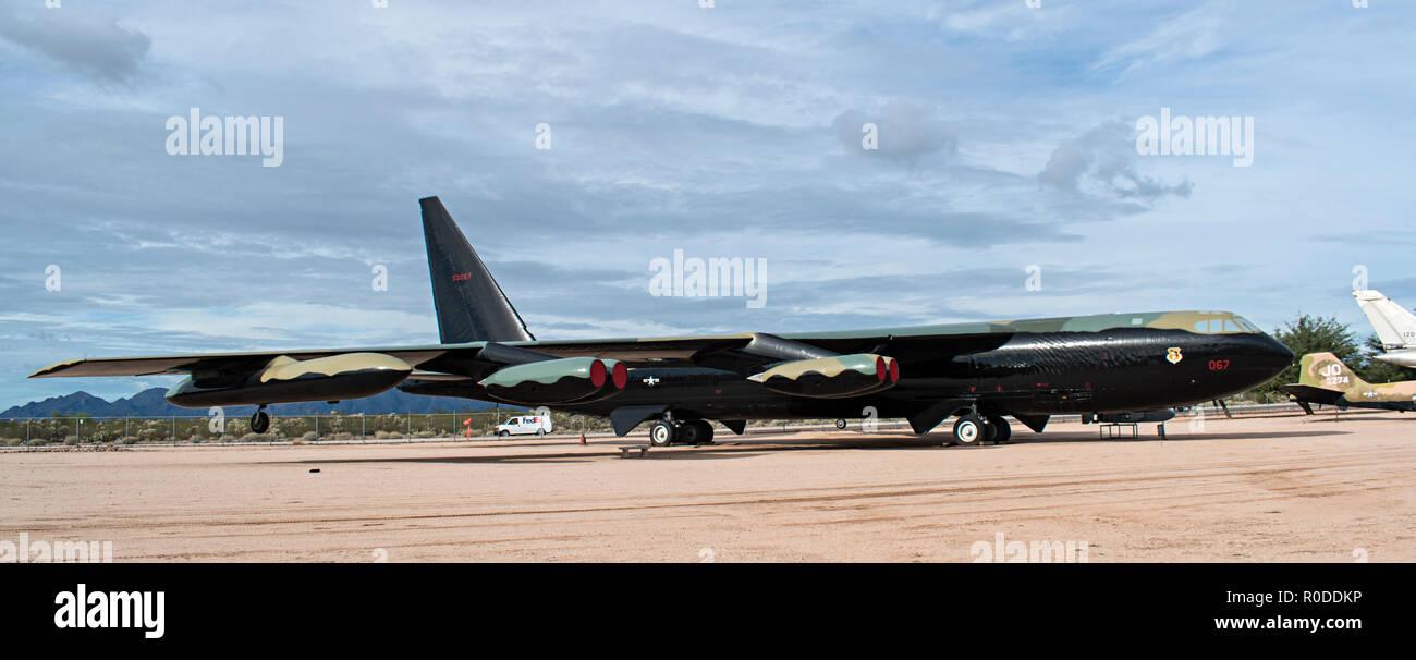 B-52 Stratofortress, Pima Air & Space Museum. Tucson, Arizona. Ee.Uu. Foto de stock