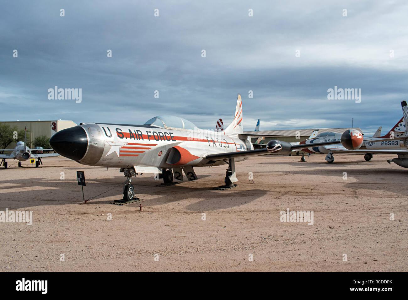 Starfire, Pima Air & Space Museum. Tucson, Arizona. Ee.Uu. Foto de stock