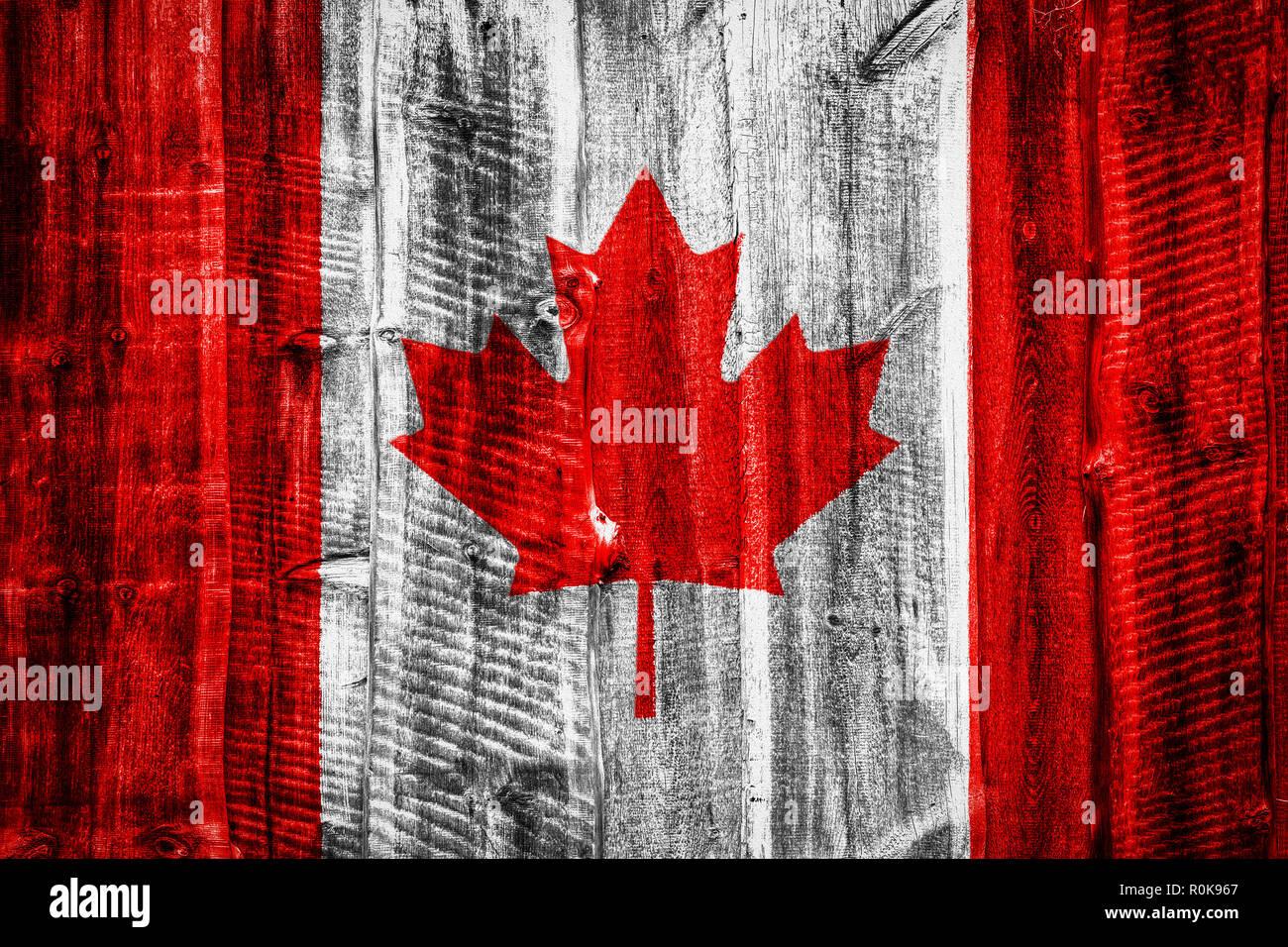 Canadian Flag Wallpaper Background Imágenes De Stock