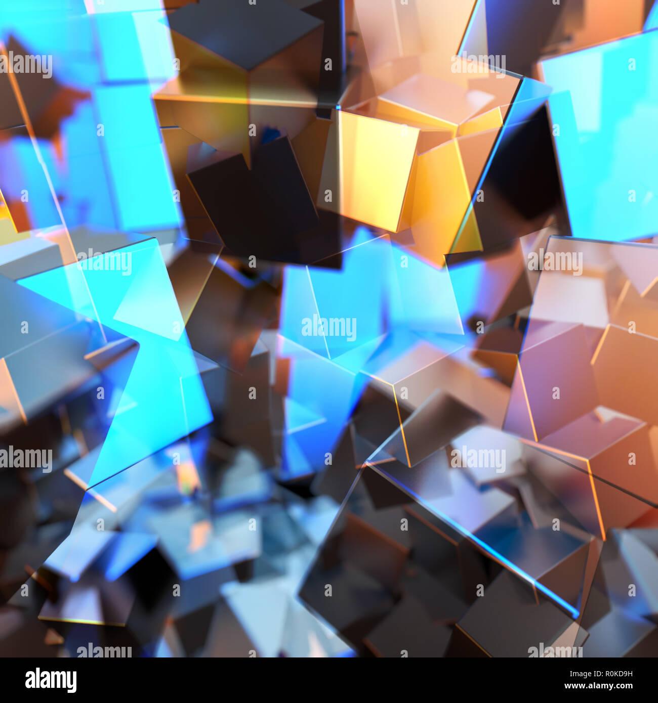83cc4554e3da Plata u Oro blanco platino cubos bloques de fondo. Modelado 3d ilustración.  la riqueza minera concepto bitcoin . Dinero finanzas negocio creciente  éxito ...