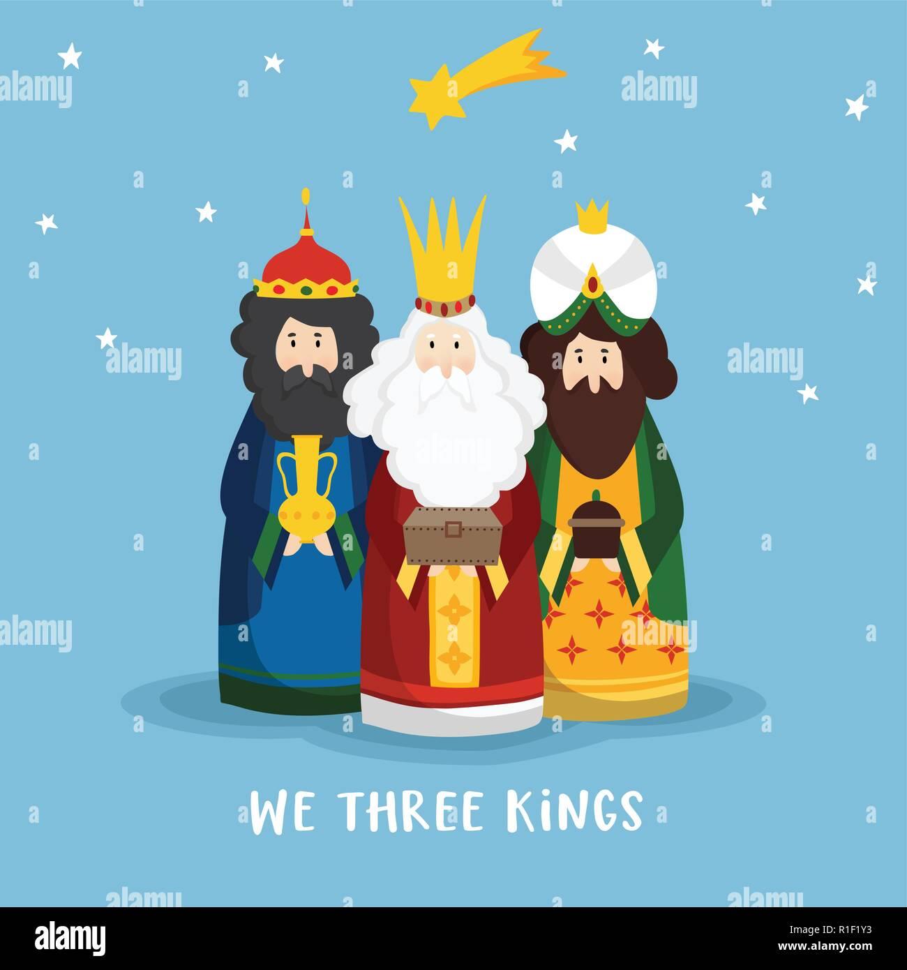Felicitaciones De Navidad Con Los Reyes Magos.Tarjeta De Felicitacion De Navidad Lindo Invitacion Con