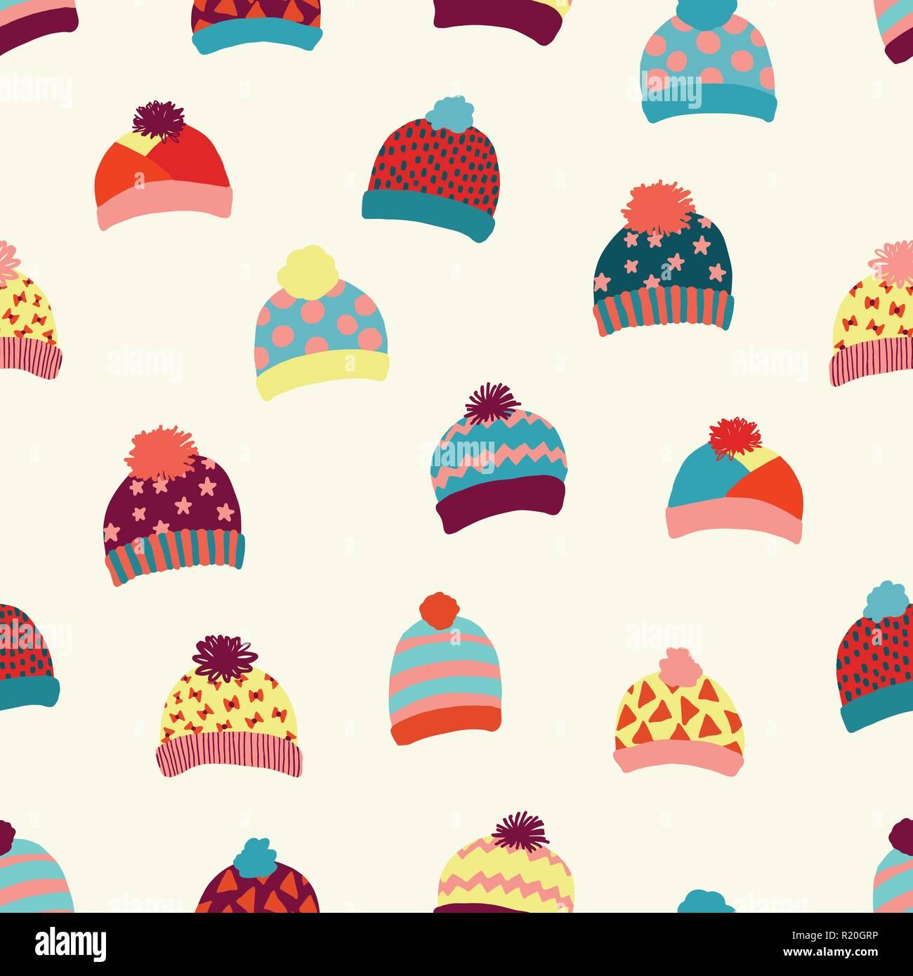 Scandinavian Style Seamless Knitted Pattern Imágenes De Stock ...