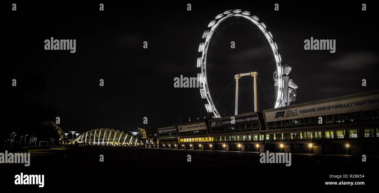 Circuito Callejero De Marina Bay : Circuito callejero imágenes de stock & circuito callejero fotos de