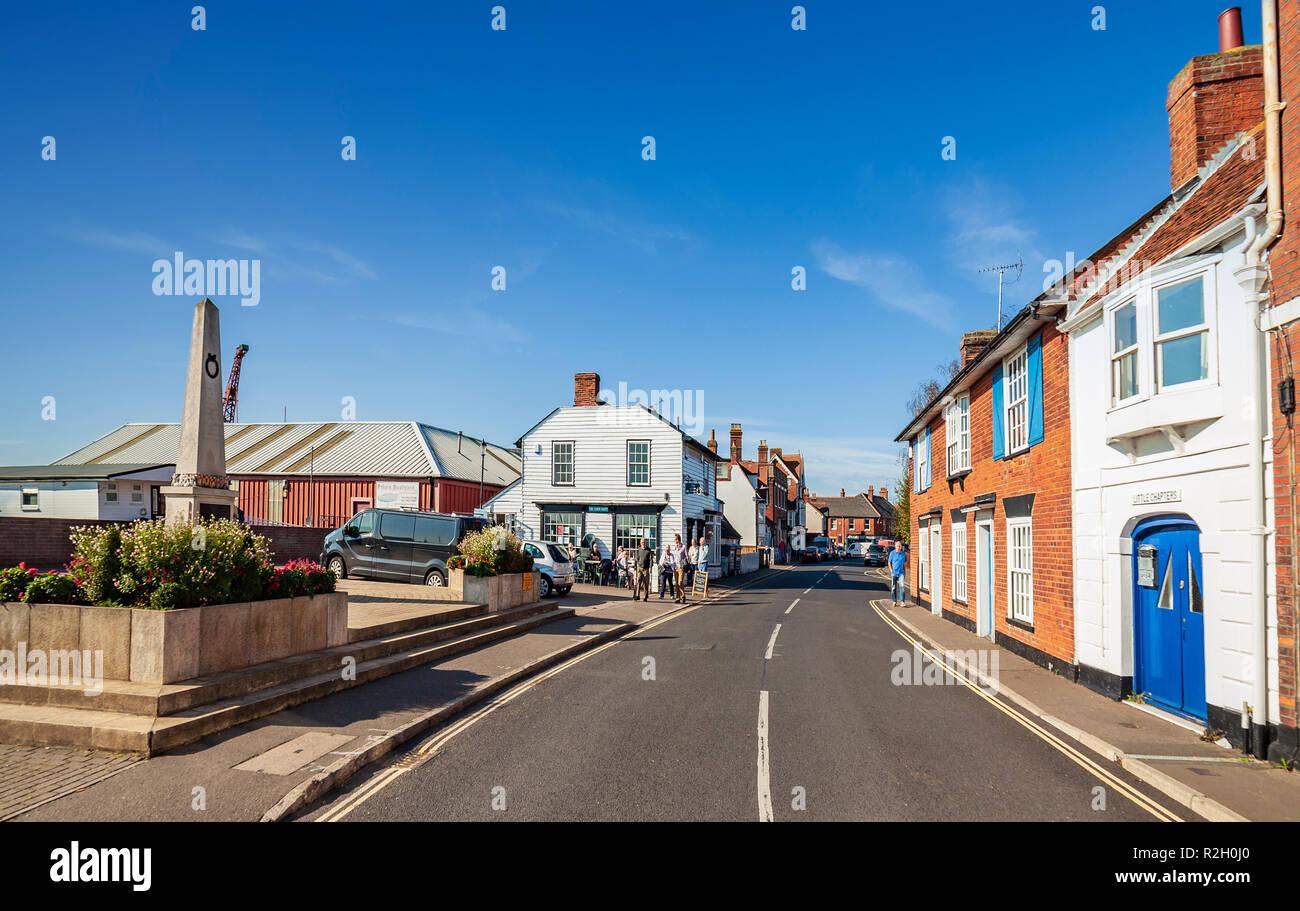 Crouch Burnham en High Street. Imagen De Stock